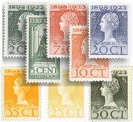Holland 1923 - NVPH 121-128 - Ubrugt