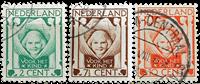 Nederland 1924 - Nr. 141-143 - Gebruikt