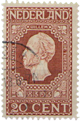 Holland 1913 - NVPH 95 - Stemplet