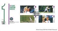 Grande-Bretagne - Andy Murray - Bloc-feuillet oblitéré