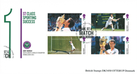 England - Andy Murray - Stemplet miniark