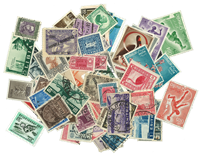 Italian colonies - 100 different stamps