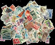 500 francobolli differenti Italia