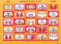 Denemarken - Kerstzegels 2003