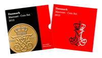 Denmark coin set 2013
