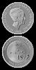 Videnskabsmønt Tycho Brahe 500 kr sølv