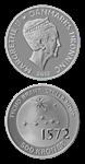 500 kr.sølv Tycho Brahe