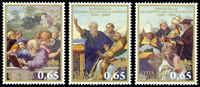 Vatikanet - Det Hellige Sakramente - Postfrisk sæt 3v