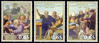 Vatican - La Sainte Eucharistie - Série neuve 3v