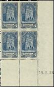 France 1938 - YT 399 - Bloc de quatre