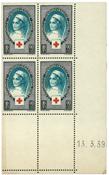 France 1939 - YT 422 - Bloc de quatre