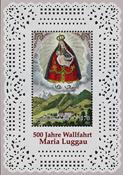Austria - Maria Luggau - Mint souvenir sheet