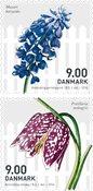 Danemark - Fleurs de printemps - Série neuve 2v