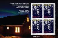 Grønland - Hjemløse velgørenhed - Postfrisk miniark