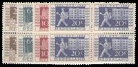 Hollanti 1952 - NVPH 592-595 - Postituore