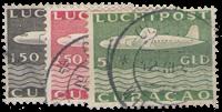 Curacao - losse waarde uit Vliegtuig 1947 (nr. LP 82-84, gebruikt)