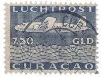 Curacao - losse waarde uit Vliegtuig 1947 (nr. LP 85 gebruikt)