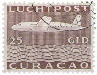 Curacao - losse waarde uit Vliegtuig 1947 (nr. LP 88, gebruikt)