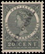 Nederland Indië - Opruimingsuitgifte overdrukt in zwart (nr. 62, postfris)