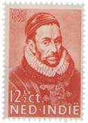 Nederland Indië - 400 jaar Willem van Oranje (nr. 180, postfris)