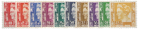 Nederland Indië - Koningin Wilhelmina 1934-1937 (nr. 195-204, postfris)