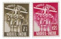Nederland Indië - Wereldjamboree 1937 (nr. 226-227, postfrisk)
