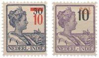 Nederland Indië - Hulpuitgifte (nr. 228-229, postfris)