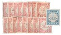 Nederlands Indië 1913-1940 - Nr. P23-P39 - Ongebruikt
