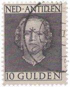 Indes Néerlandaies - 10 gld no 233 neuf avec ch.