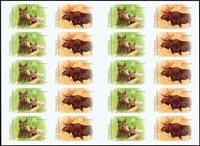 Tyskland - Rød los og elg - Postfrisk frimærkehæfte