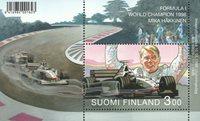Finlande - Formule 1 Mika Häkkinen Champion du monde 1998 - Bloc