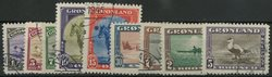 Groenland 1945 - Emission américaine - AFA 8-16 - Oblitéré
