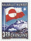 Grønland - 1989. 10-året for Grønlands Hjemmestyre  - 3,20 kr. - Flerfarvet