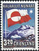 Groenland- 10ème anniversaire de l´autonomie interne -3,20 kr- Multicolore