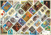 Hungary 200 older stamps