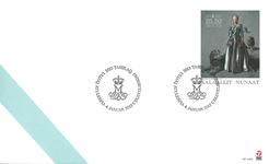 Groenland - Reine du Danemark 40 ans de règne - Env.premier jour