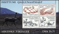 Grønland - 2000 Arktiske vikinger - Miniark