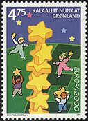 Groenland - 2000. Europa - 4,75 kr. - Multicolore