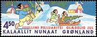 Groenland - 2002. Noël - 4,50 kr. - Multicolore