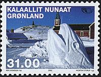 Grønland - 2002. Nordenfrimærker - 31,00 kr. - Flerfarvet