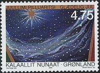 Grønland - Julefrimærker 2000 - 4,75 kr - Flerfarvet