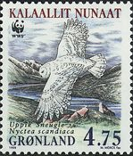 Groenland - 1999. Harfang des neiges - 4,75 kr. - Multicolores