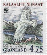 Grønland - 1999. Sneugler - 4,75 kr. - Flerfarvet