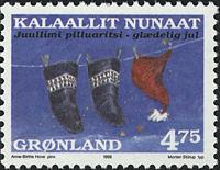 Grønland - Julefrimærker 1998 - 4,75 kr - Flerfarvet