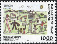 Groenland - 1998. Europa - 10,00 kr. - Multicolore