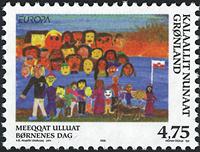 Groenland - 1998. Europa - 4,75 kr. - Multicolore