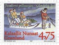 Groenland - 1997. Noël - 4,75 kr. - Multicolore