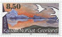 Grønland - 1995. Europafrimærker - 8,50 kr. - Flerfarvet