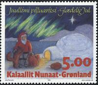 Groenland - 1994. Noël - 5,00 kr. - Multicolore