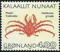 Groenland - 1993. Crabes - 4,00 kr. - Multicolore